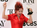 Cyndi Lauper, Tracy Letts among individual winners at annual theatre awards show.