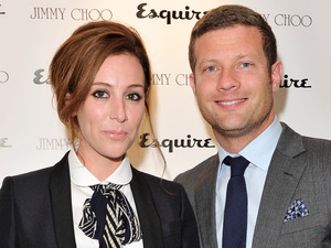 Dermot O'Leary and Dee Koppang, Jimmy Choo and Esquire opening night of London Collections:Men at 5 Hertford Street