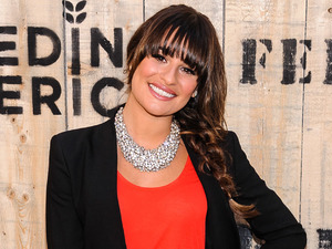 Lea Michele, Target party FEED Collaboration launch at Brooklyn Bridge Park