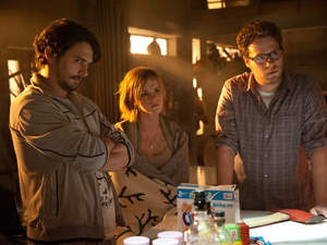 James Franco, Emma Watson, Seth Rogen in This Is The End