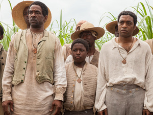 Abram (Dwight Henry) alongside Solomon (Chiwetel Ejiofor) in '12 Years A Slave'