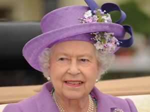 The Queen at Royal Ascot ~~~ June 20, 2013