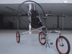 Flying bicycle invented