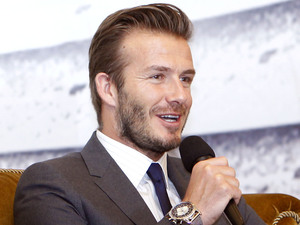 David Beckham visits Shanghai, China