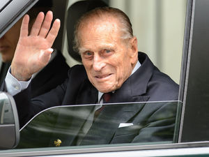 Prince Phillip leaves the London Clinic