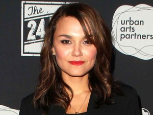 Samantha Barks arrives for the 24 Hour Plays Los Angeles