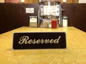'The Sopranos' diner reserves table used by James Gandolfini