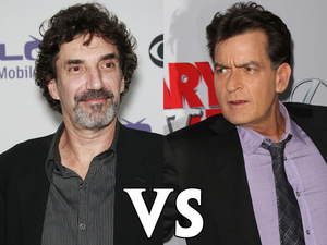 Charlie Sheen vs. Chuck Lorre