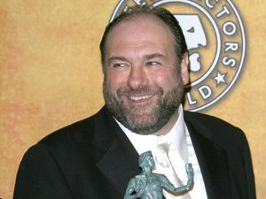 James Gandolfini at the 14th Annual Screen Actors Guild Awards in 2008