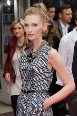 Agata Buzek, 'Hummingbird' film premiere, London, Britain