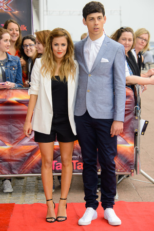 Caroline Flack, Matt Richardson, X Factor auditions London, Excel Centre