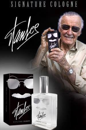 Stan Lee's Signature Cologne