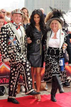 Nicole Scherzinger, 'The X Factor' auditions, Excel Centre, London, Britain