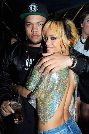 Rihanna, Rorrey Fenty, DJ, Boujis nightclub