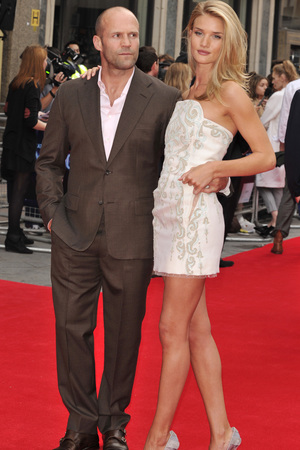 Rosie Huntington-Whiteley, Jason Statham, The World Premiere of 'Hummingbird' at Odeon West End