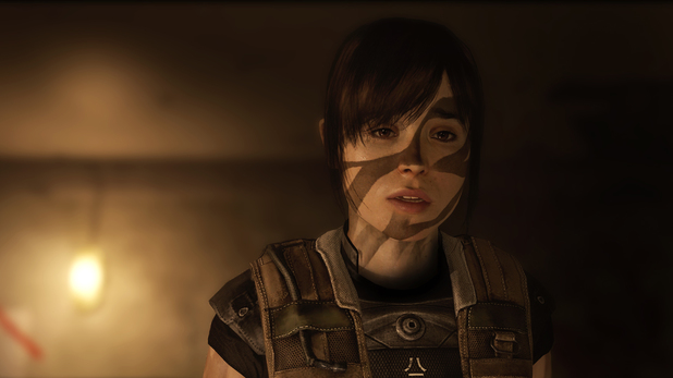 An older Jodie Holmes in 'Beyond: Two Souls'