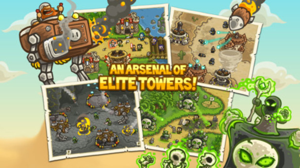 'Kingdom Rush Frontiers' screenshot