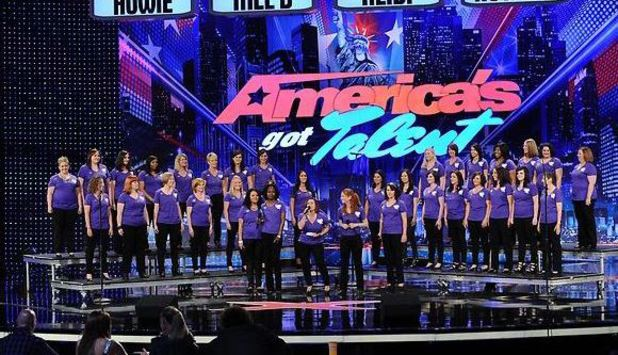 'America's Got Talent' Week 3 - Chicago auditions: The American Military Spouses' Choir