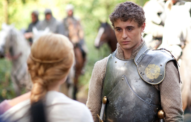 Max Irons as King Edward IV in 'The White Queen'