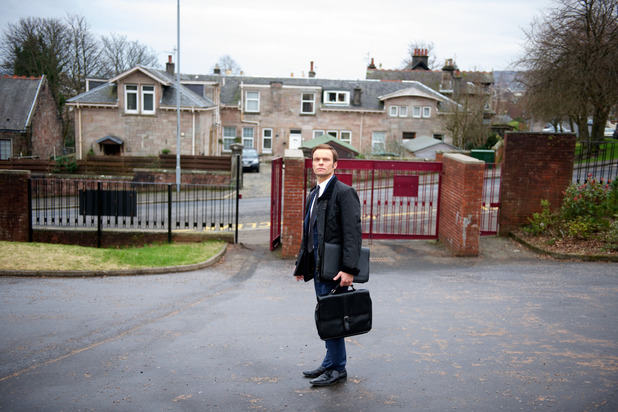Michael leaves Waterloo Road for the last time