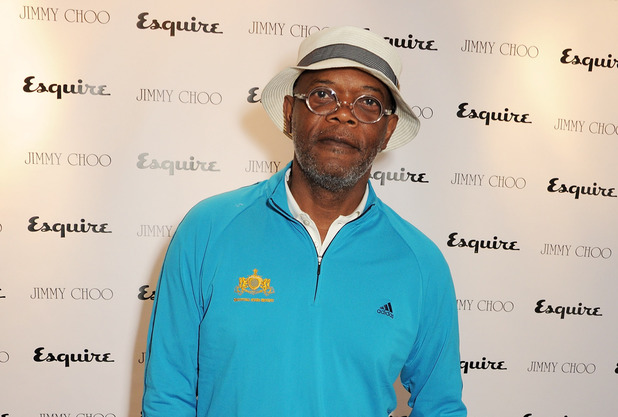 Samuel L Jackson, attends the Jimmy Choo and Esquire opening night of London Collections:Men at 5 Hertford Street, London.