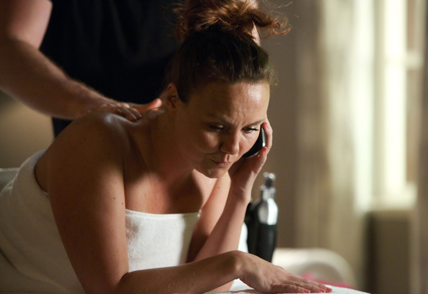 Janine gets pampered in an exclusive London hotel.