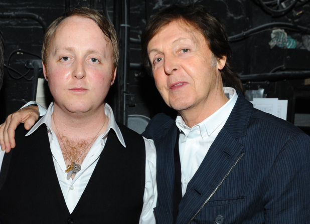 James McCartney & Paul McCartney