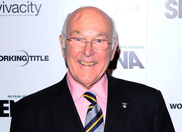 Formula One commentator Murray Walker