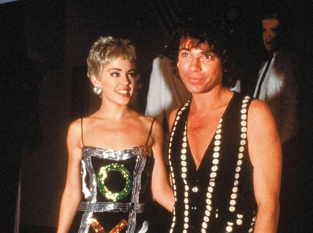 Kylie Minogue, Michael Hutchence, 1992