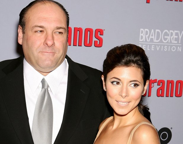 James Gandolfini and Jamie-Lynn Sigler