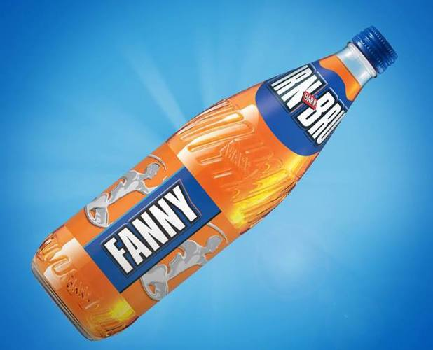 Irn-Bru selling personalised 'Fanny' bottles
