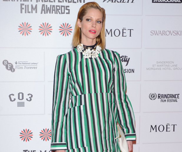 Sienna Guillory, British Independent Film Awards held at Old Billingsgate - Arrivals