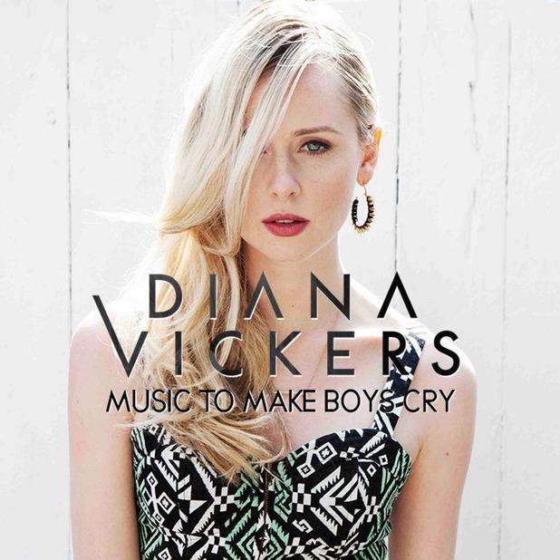 Diana Vickers 'Music To Make Boys Cry' album artwork.