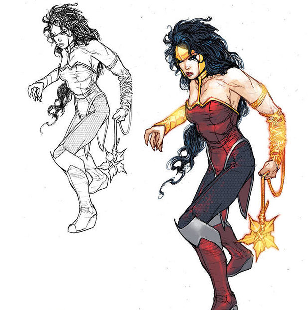 'Justice League 3000' Wonder Woman design