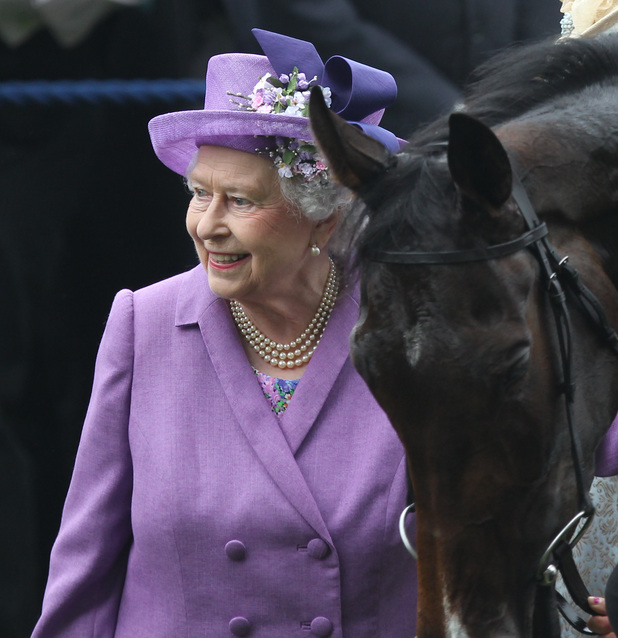 Queen Elizabeth II's horse Estimate wins Royal Ascot Gold Cup