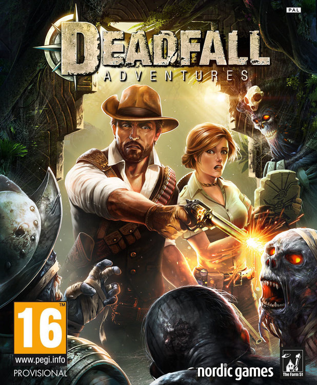 Deadfall Adventures Xbox 360 cover art