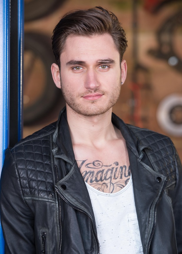 Charlie Clapham as Freddie Roscoe in Hollyoaks