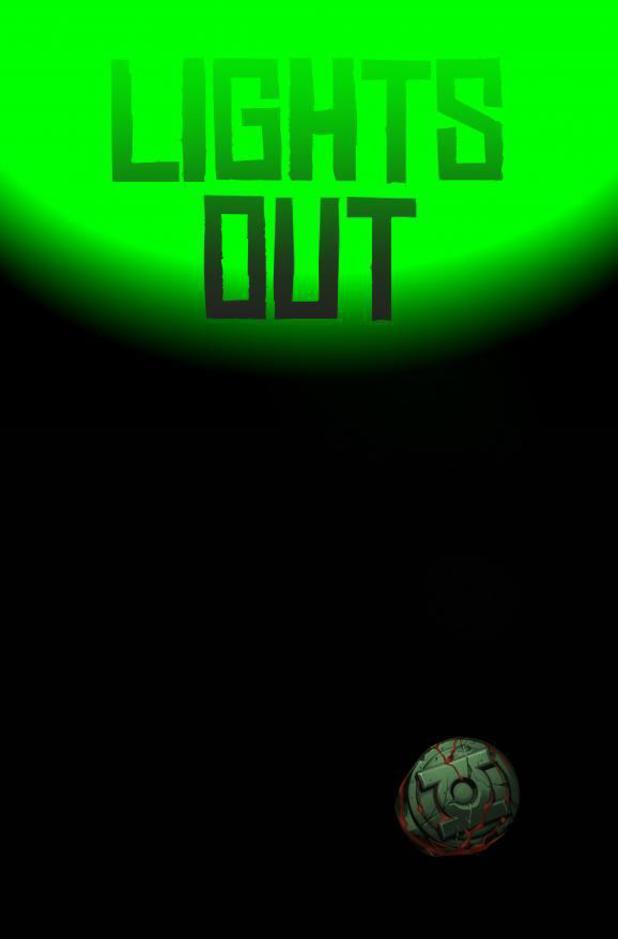 Green Lantern 'Lights Out' teaser artwork