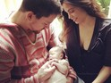 The White House Down actor opens up about becoming a father.