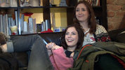 Kaya Scodelario and Lily Loveless on 'mature' Skins fire