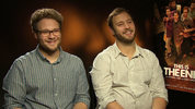 Seth Rogen and Evan Goldberg chat to Digital Spy about there new comedy 'This Is The End', where stars including Rogen, James Franco and Emma Watson play themselves in a Hollywood apocalypse
