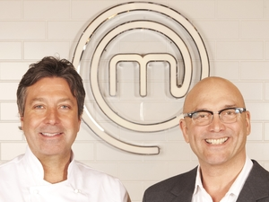 John Torode and Gregg Wallace on Celebrity MasterChef 2013