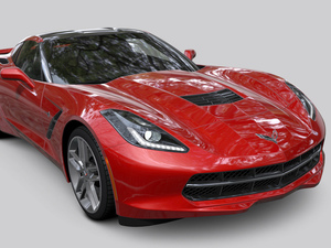 Gran Turismo 6 Pre-Order Pack Screenshots: Chevrolet Corvette Stingray (C7) '14