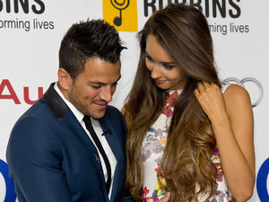 Peter Andre and Emily MacDonagh at the Nordoff Robbins Silver Clef Awards