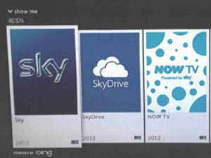 Sky and Skydrive on the Xbox