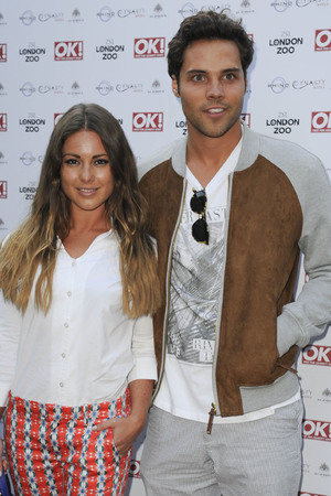 Louise Thompson, Andy Jordan, OK! Magazine Summer Party Wild Tigers and Tiaras held at the London Zoo