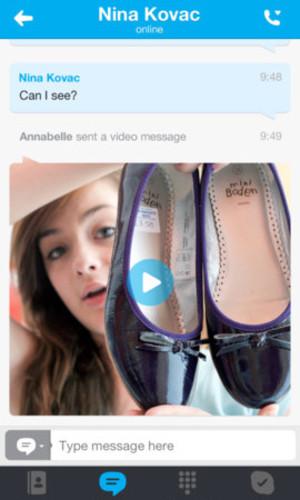 Skype 4.9 for iOS
