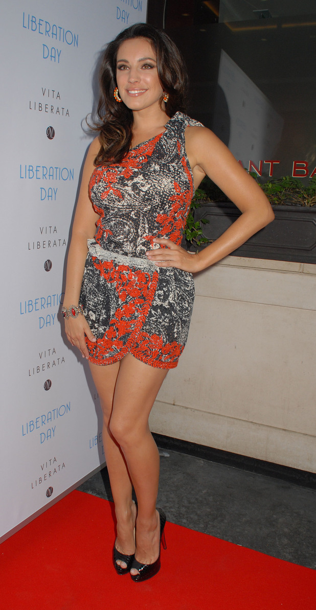 Kelly Brook Vita Liberata Liberation Day Launch Partyat Sanctum Soho Hotel