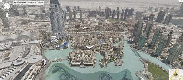 Google Street View image of Burj Khalifa