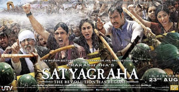 'Satyagraha' movie poster